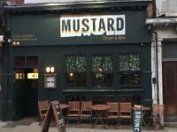 CHEF WANTED: Mustard neighbourhood Diner, Sale M33.