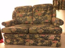 Sofa & Chair with Floral Details