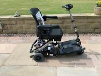 Luggie super folding mobility boot scooter