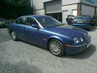 05 Jaguar S type 2.7 Diesel 4 door very clean condition with old MOTs ( can be viewed anytime)