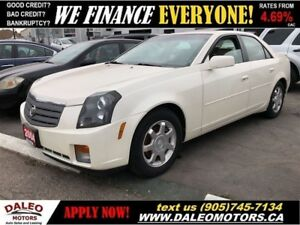 2004 Cadillac CTS LUXURY | CERTIFIED | LEATHER | SUNROOF