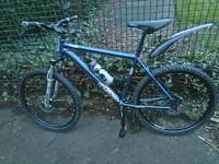VOODOO BANTU IN EXCELLENT CONDITION, SIZE LARGE WITH HYDRAULIC BRAKES, £180