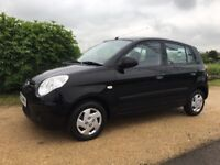 2009 KIA PICANTO 1.0 5 DOOR, NEW MOT, NEW CLUTCH, NEW CAMBELT, JUST SERVICED, ABSOLUTELY FAULTLESS