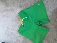 Green Ralph Lauren swim shorts