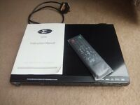 Sumvision Lynx HDMI Divx DVD Player with remote - USB and SD card reader