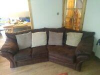 """Brown sofa """"corner sofa"""""""