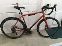 Size L GENESIS CROIX DE FER 10 bicycle - with EXTRAS