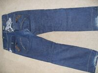jeans, tops, belts, jackets - young mens, males clothing