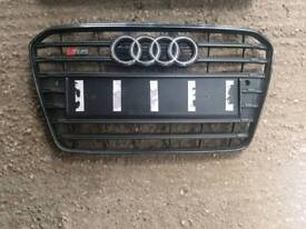 Audi s5 facelift black edition grill