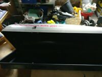 Lockable car roof box. Auto plas A405.