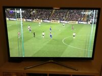 "Samsung 60"" 3D TV (Has lines on screen)"