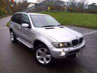 MINT BMW X5 3.0D SPORT AUTOMATIC *FULL YEARS MOT* TWIN PIPES 4X4 Like Q7 Touareg Jeep Range Rover