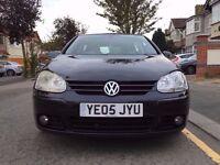 2005 Volkswagen Golf 2.0 GT TDI Diesel 5DR Low insurance & road tax , Long MOT , HPI Clear