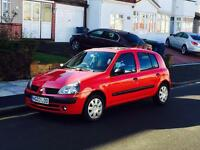 Renault Clio 1.1, New MOT, Full Service History, Only 1 Former Keeper, Cheap 4 Insurance, 5 Doors