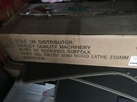 Sealey Quality Machinery SM1307 Mini Wood Lathe 330mm