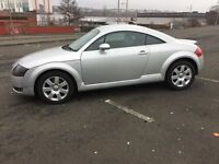 Audi TT. Automatic 76.000 miles. SERVICE..HISTORY