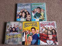 Job Lot Scrubs Season 1- 5 DVD Bundle