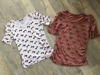 Maternity clothing size 8 - 10