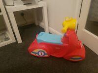 Kids toy car and bike