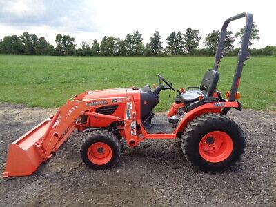 2008 Kubota B2620 Tractor 4wd Hydro La364 Loader 26hp Diesel 462 Hours