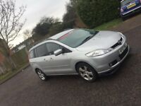 MAZDA 5 SPORT REMAPED !! MPV 6 SEATER !! DIESEL !! 1 YEAR MOT PX WELCOME !!not zafira touran