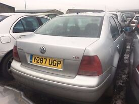 2001 Volkswagen bora, 1.9 diesel, breaking for parts only, all parts available