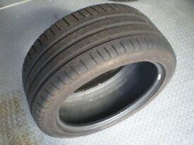 245 40 17 Michelin Pilot Sport 3 . 5.5 mm tread In excellent condition