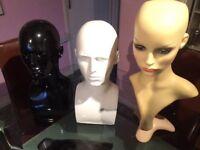 Mannequin display heads