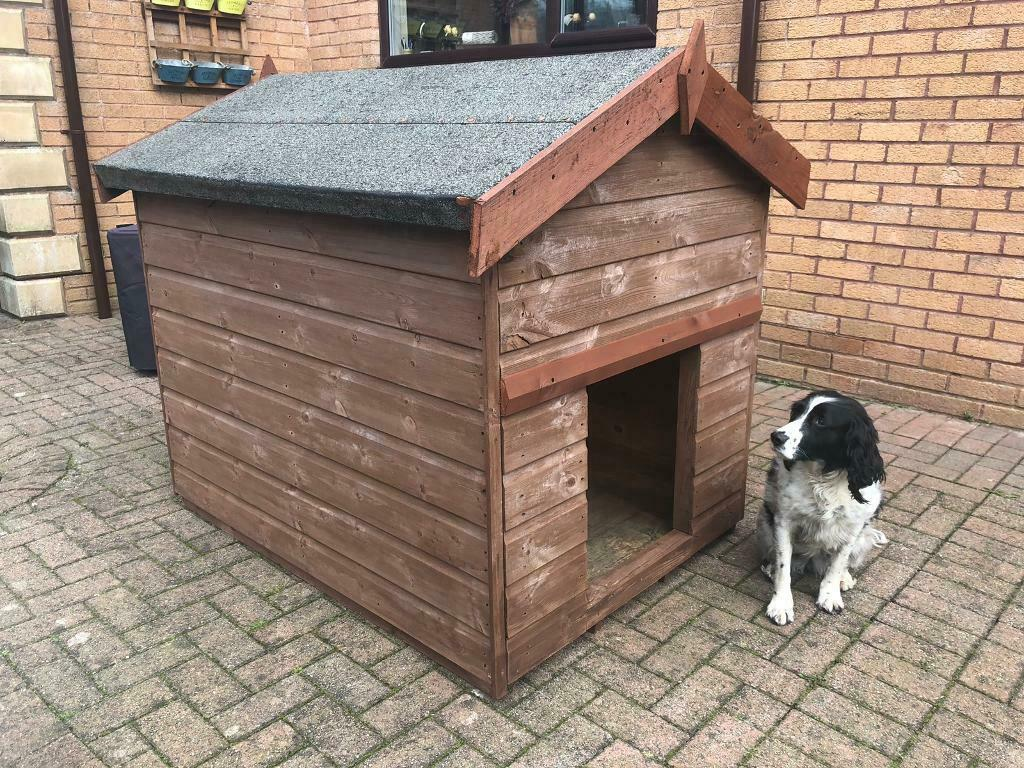 Large Dog Kennel, Animal Pen (can deliver) Quality in Excellent Condition |  in Harthill, North Lanarkshire | Gumtree