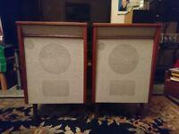 rare pair stentorian Hi-Fi speakers with HF1016 speakers