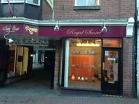 Retail premises to let Macclesfield - various sizes and uses