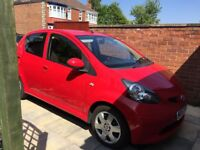 Toyota Aygo for sale.