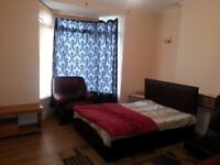 Double bed size room to let near new Ikea and motorway