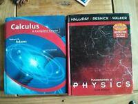 Fundamentals of physics & calculus student books