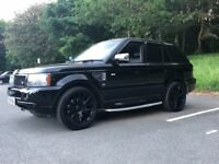 Range rover sport 2.7 diesel automatic low mileage 71,000 on the clock fully loaded