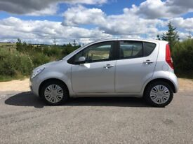 2014 VAUXHALL AGILA S, PETROL, 5 DOOR, £20 ROAD TAX, IMMACULATE, FULL SERVICE HISTORY, STEEL SILVER