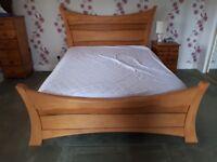 Kingsize Bed with Memory foam Mattress