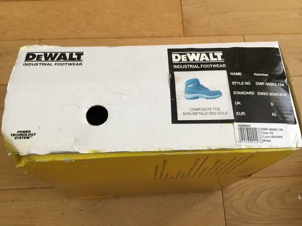 Dewalt Industrial Boots UK Size 9 EUR 43 BNIB | in Ilford, London | Gumtree