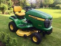 "John Deere X300 Ride on Mower - 42"" Mulch Deck - Countax/Westwood/Honda - Lawn tractor"