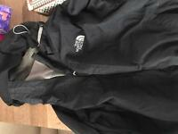 Women's north face jacket in large size, Northface Hyvent with detachable hood