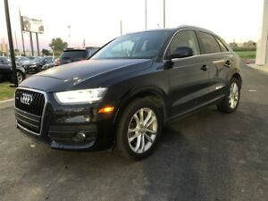 2015 Audi Q3 Technik - AWD SUNROOF CAMERA LEATHER