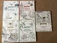 Job Lot 5 x Harry Potter Colouring Books