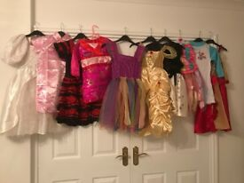 Children dressing up outfits