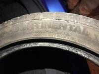 Continental tyre 215/45/17