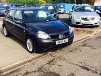 2005--CLIO 1.2L--MOT MAY 2017--TIMING BELT DONE LOW MILAGE!!