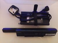 Used - Original & Genuine Dell Studio 1555 Laptop Charger + Li-on 9-Cell Laptop Battery (MT264)