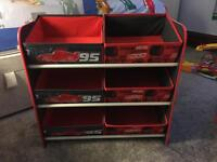 Disney Cars Toy Storage