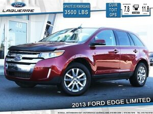 2013 Ford Edge Limited AWD **CUIR*TOIT*GPS*CAM**