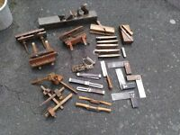 Collection of Used Woodworking Tools