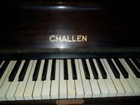 Challen Piano, Mahogany Case, O/Strung,